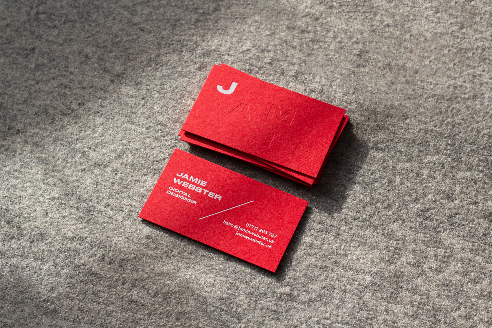 Jamie Webster Business Cards - Jot Paper Co